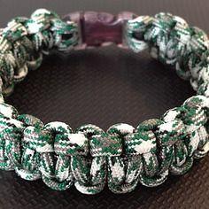 Bracelet paracorde 19 cm , bracelet de survie