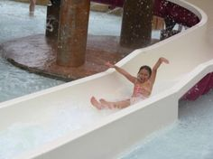 Cooling off at Dollywood's Splash Country!