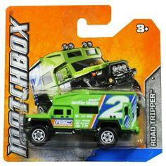 Matchbox Diecast Car Road Tripper (Green) Arctic Team by Mattel. $5.99. SHIPS FAST. Matchbox Diecast Car Road Tripper (Green) Arctic Team