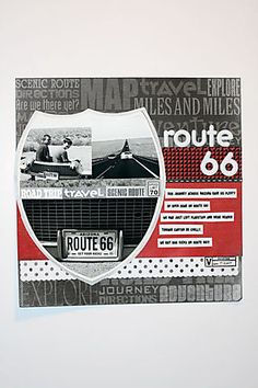 Bridges, bikes and blues Scrapbook Designs, Scrapbooking Layouts, Travel Scrapbook, Scrapbook Cards, Route 66 Arizona, Travel Route, Travel Themes, Layout Inspiration, I Fall In Love