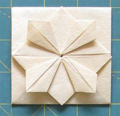Making a Zhen Xian Bao/Chinese Thread Book: Part Two – Byopia Press Origami Yoda, Origami Star Box, Origami Dragon, Origami Ball, Origami Fish, Origami Stars, Origami Paper, Origami Boxes, Dollar Origami