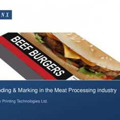 Coding & Marking in the Meat Processing industry Linx Printing Technologies Ltd.   Overview • The Meat Processing industry • Keeping up with legislati. http://slidehot.com/resources/coding-technologies-used-in-meat-processing.58592/