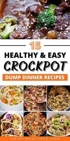 Healthy Crockpot Recipes, Crockpot Dishes, Crock Pot Slow Cooker, Crock Pot Cooking, Delicious Meals, Crockpot Meals, Healthy Cooking, Slow Cooker Recipes, Cooking Recipes