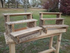 Cup cake stand by Blackwatermillworks on Etsy, $29.99