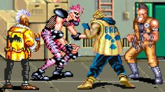 Beat-em-up breakdown: Common themes in popular brawlers Beat Em Up, Cops, Cyberpunk, Rage, Ronald Mcdonald, Theater, Video Games, Gaming, The Originals