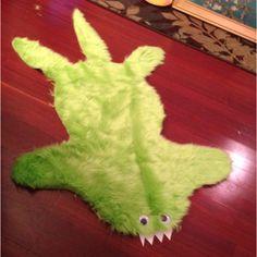 Monster fur rug