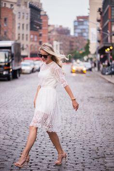 LITTLE WHITE DRESS - Styled Snapshots