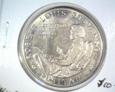 1969 Western Samoa One Tala Coin KM#8 BU Robert Louis Stevenson Robert Louis Stevenson, Coins, Personalized Items, Coining
