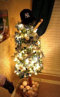 New York Yankees christmas tree!