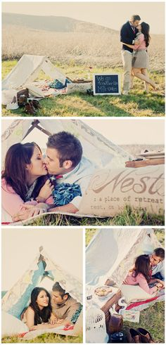 Lovely engagement session shot by White Haute Photography, San Diego, CA