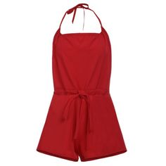 9.69$  Watch now - http://dig5z.justgood.pw/go.php?t=173655903 - Halter Open Back Romper