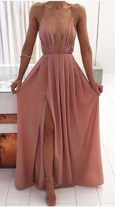 d70278dfb0600a Cassandra Chiffon Pleated Open Back Criss Cross Strappy Slit Long Maxi Dress