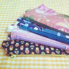 Monederos/ Portallaves/ Portatarjetas mini Mini purse Telas japonesas Japanese fabrics