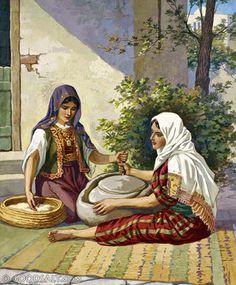Matthew 24: Women Grinding at the Mill