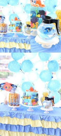 Finding Dory Birthday Party 4