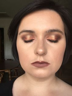 Look Using the Urban Decay Vice 4 Palette   Flame, Bitter, Delete #vice4