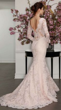 Romona Keveza long sleeves wedding dresses - Deer Pearl Flowers / http://www.deerpearlflowers.com/wedding-dress-inspiration/romona-keveza-long-sleeves-wedding-dresses/