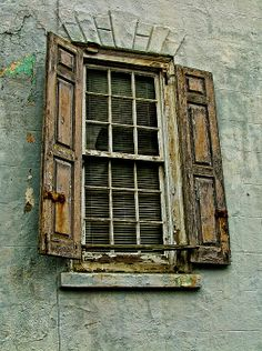 I love old windows...like looking into the soul of the place.