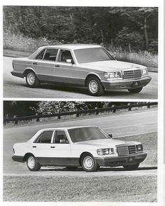 1985 Mercedes Benz 500SEL 380SE Factory Photograph aa3706-1QROBL