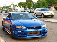 Nissan Skyline R34    I want one of these