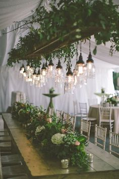 Prepare yourself for some serious wedding inspiration with our fabulous collection of lighting ideas for your ceremony and reception, all found on Pinterest!
