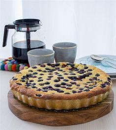Vaniljkaka med blåbär - ZEINAS KITCHEN