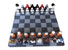 Jeu d'échec Lego SW