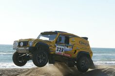 Bowler Wildcat - Land Rover - Rally Raid - Dakar