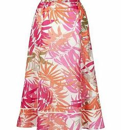 Heine Pomodoro A-Line Skirt This versatile skirt is in a length that flatters. The A-line shape can be dressed up or down, whilst the pure cotton is both light and comfortable. In a pretty palm print with small cut-out detailing http://www.comparestoreprices.co.uk/skirts/heine-pomodoro-a-line-skirt.asp