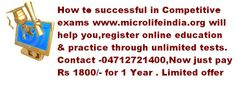 For further details visit www.microlifeindia.org