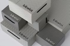 Package design and branding for Bibelot designed by A Friend Of Mine