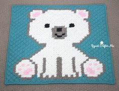 Kijk wat ik gevonden heb op Freubelweb.nl: een gratis haakpatroon van Repeat Crafter Me om dit leuke babydekentje te maken https://www.freubelweb.nl/freubel-zelf/gratis-haakpatroon-ijsbeer-dekentje/