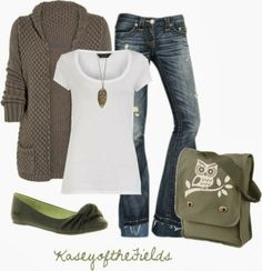 Get Inspired by Fashion: Casual Outfits | Nature Study