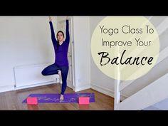 30 Minute Full Yoga Class For Balance | ChriskaYoga - YouTube