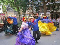 Découvrez SONIDOS COMAYAGUA, un spectacle culturel original tout droit venu du Honduras, petit pays d'Amérique du Sud aux danseurs souriants et colorés !