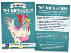 "MOTHER HEN - ""You know that is bad for your health! I just want to make sure you are living healthy!"" #IQuit #quitforgood  Learn more about lung cancer and treatment options at Doylestown Hospital at: https://www.doylestownhealth.org/medical-services/cancer-institute/cancer-types/lung-cancer"