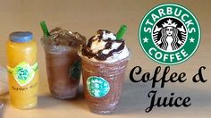 how to: Starbucks coffee and juice