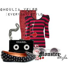 """""""Monster Style : Ghoulia"""" by missm26 on Polyvore"""