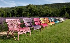 Unique Colorful Chairs Design for Outdoor Furniture and Interior Furniture Ideas by Deja Vu