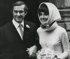 Audrey Hepburn and Andrea Dotti, 1969