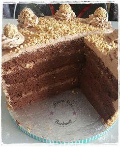 Sachertorte/Schokotorte - QimiQ Tiramisu, Food And Drink, Cake, Desserts, Ethnic Recipes, Ferrero, Muffins, Cake Ideas, Dessert Ideas