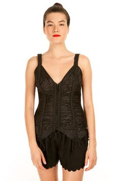 Don't keep this Norma Kamali camisole under wraps