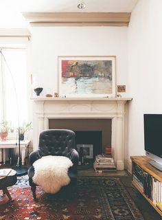 this painters baltimore home embodies vintage ease designsponge