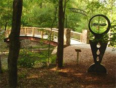 Check out some of the unique sculptures by YHC alumnus Al Garnto at Meeks Park in Blairsville, GA.