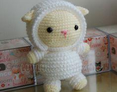 Lion Gurumi Crochet Pattern by LuvlyGurumi on Etsy