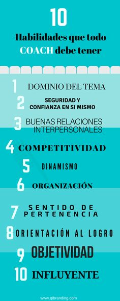¿Qué habilidades debe tener un coaching? http://blgs.co/pzo6UG