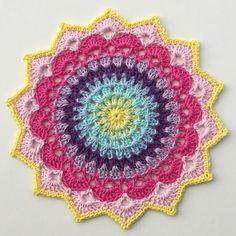 Magnolia Mandala - Free Pattern   Crochet For Children   Bloglovin'