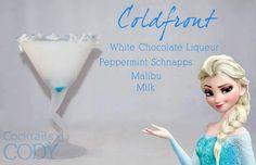 Disney cocktail drink