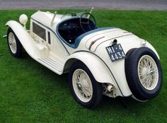1933 Alfa Romeo 6C 1750 GS Touring Spider.