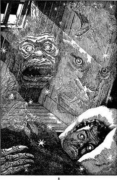Lawrence Sterne Stevens, FFM 46-10, The Island of Doctor Moreau by H.G. Wells.